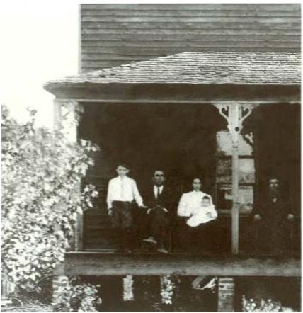 Senator Pepper with parents Joseph and Lena Pepper, Camp Hill, AL